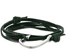 Hook on Leather Bracelet