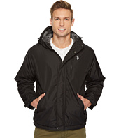 U.S. POLO ASSN. - Fixed Hood Solid Windbreaker