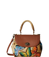 Anuschka Handbags - 624 Medium Flap Satchel