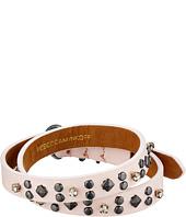 Rebecca Minkoff - Studded Double Wrap Leather Bracelet