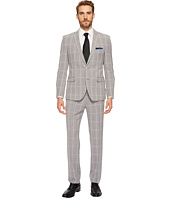 Nick Graham Suiting - Black & White Plaid Suit