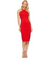 Taylor - Knot Neck Halter Midi Dress