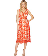 ROMEO & JULIET COUTURE - Midi Length Lace Dress with Nude Liner