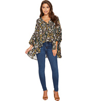 ROMEO & JULIET COUTURE - Chiffon Printed Top