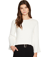 J.O.A. - Side Slit Flare Sleeve Sweater
