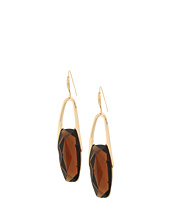 Robert Lee Morris - Topaz and Gold Drop Earrings