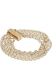 GUESS - 5 Row Dainty Chainmagnetic Close Bracelet