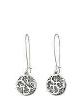 GUESS - Disc with Chain Linear Earrings