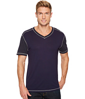Agave Denim - Darren Short Sleeve Color Block V-Neck Tee