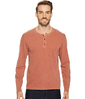 Agave Denim - Pintail Long Sleeve Henley Slub Jersey