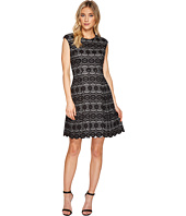 Vince Camuto - Bonded Lace Fit & Flare Dress