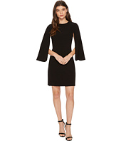 Tahari by ASL - Cape Sleeve Shift Dress