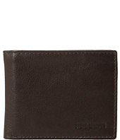 Steve Madden - Smooth Leather RFID Blocking Passcase Wallet