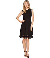 Calvin Klein - Illusion Hem & Waist Detail Fit & Flare Dress CD7C112C