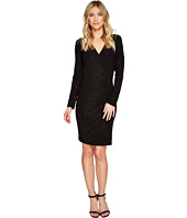 Calvin Klein - Sparkle Mock Wrap Dress CD7ANTDE