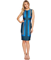 Calvin Klein - Printed Scuba Sheath Dress CD7MPV6N