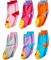 Jefferies Socks - Emoji Crew 6-Pack (Toddler/Little Kid/Big Kid)