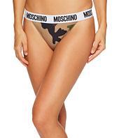 Moschino - Microfiber Fashion Thong