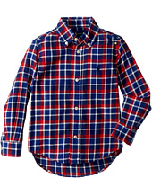 Polo Ralph Lauren Kids - Plaid Cotton Twill Shirt (Toddler)