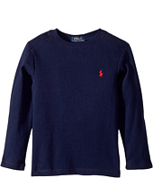 Polo Ralph Lauren Kids - Waffle-Knit Cotton T-Shirt (Toddler)