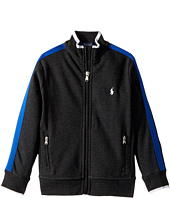Polo Ralph Lauren Kids - Cotton Interlock Track Jacket (Little Kids/Big Kids)