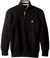 Polo Ralph Lauren Kids - Cotton 1/2 Zip Sweater (Little Kids/Big Kids)