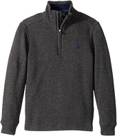 Polo Ralph Lauren Kids - French-Rib 1/2 Zip Pullover (Little Kids/Big Kids)
