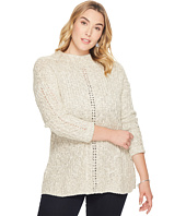 Lucky Brand - Plus Size Open Stitch Sweater