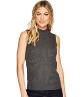Michael Stars - Luxe Cotton Mock Neck Shell