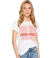 The Original Retro Brand - Pizza Pizza Slub Cotton Rolled Short Sleeve Tee