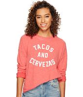 The Original Retro Brand - Tacos & Cervezas Haaci Pullover Crew