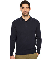 Perry Ellis - Solid Polo Sweater