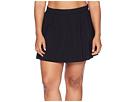 Plus Size Jersey Tennis Skirt Bottom
