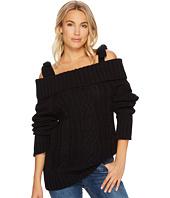 J.O.A. - Cold Shoulder Sweater