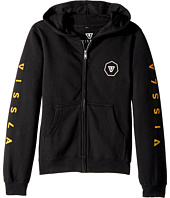 VISSLA Kids - Swellbow Full Zip Hooded Fleece (Big Kids)