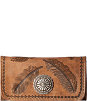 American West - Sacred Bird Trifold Wallet