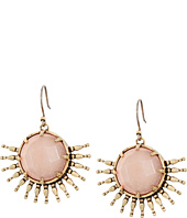 Lucky Brand - Sunburst Drop Crystal Earrings