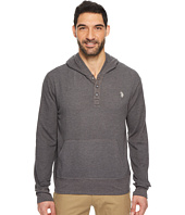 U.S. POLO ASSN. - Long Sleeve Solid Thermal Hoodie
