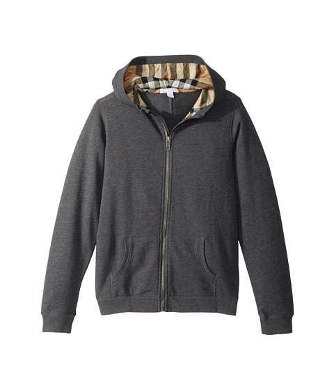 Burberry Kids Pearcy Hooded Sweater (Little Kids/Big Kids) at ...