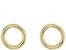Forward Facing Hoops Earrings