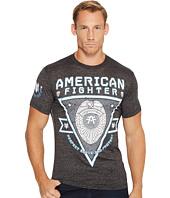 American Fighter - Respect Short Sleeve Tetris Mock Twist Tee