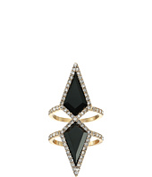 GUESS - Double Diamond Shape Vertical Ring