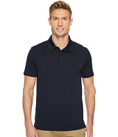 Perry Ellis - Short Sleeve Striped Jacquard Polo