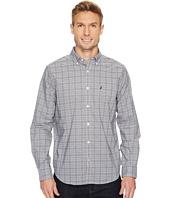 Nautica - Long Sleeve Yarn-Dye Plaid Shirt