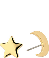 Tory Burch - Star and Moon Stud Earrings