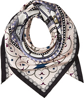 Tory Burch - Game Silk Square Scarf