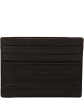 John Varvatos Star U.S.A. - Clawed Textured Credit Card Case