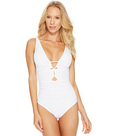 LAUREN Ralph Lauren - Beach Club Keyhole-Front One-Piece