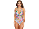 Jungle Beach Cross-Back One-Piece