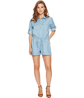 Brigitte Bailey - Layla Button Up Denim Romper